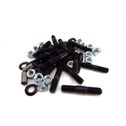 Scootopia Lambretta Sidecase Stud, Nut & Washer Set