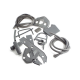 Scootopia Lambretta Series 3 LI Special, SX & TV Grey Rubber Kit