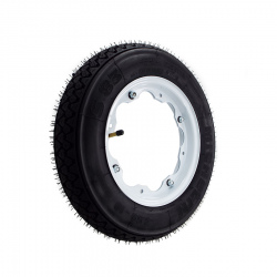 Scootopia Lambretta 350-10 White S83 Wheel Deal