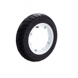Scootopia Lambretta 350-10 White S1 Wheel Deal