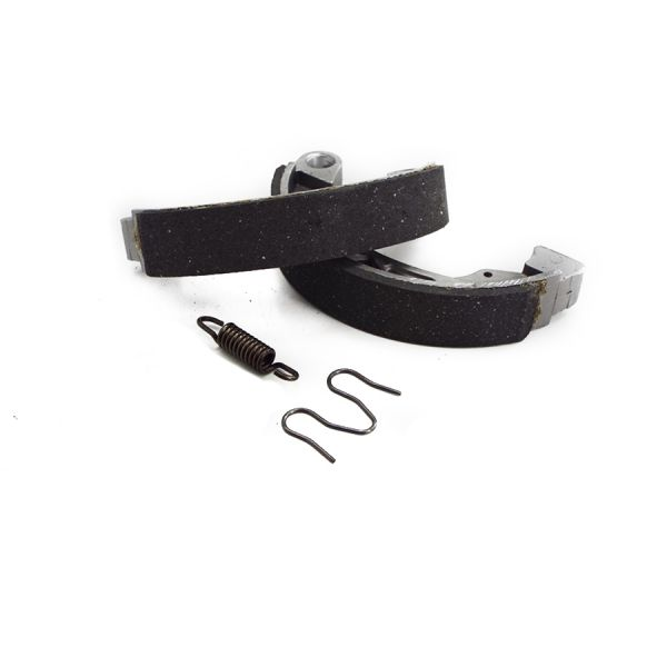 Scootopia Lambretta GP Front Or Rear Brake Shoe & Fixing Set