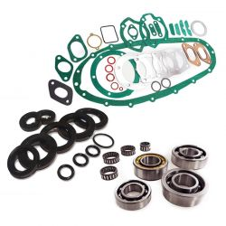 Scootopia Lambretta LI, SX, TV Engine Oil seal, Bearing & Gasket set