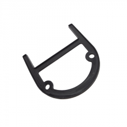Scootopia Lambretta Series 3, DL & GP Black Air Scoop Gasket