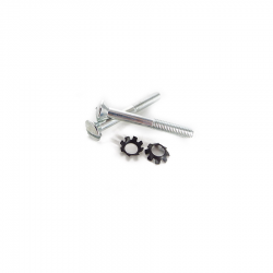 Scootopia Lambretta Series 2 Handle Bar Top Fixing Screw Set  (1 Pair)