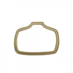 Scootopia Lambretta Late Series 2 Tail Lamp Cream Gasket