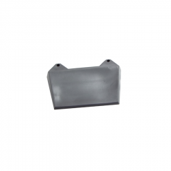 Scootopia Lambretta Series 3 Grey Rear Mudflap