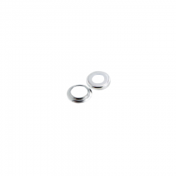 Scootopia Lambretta Series 1 & 2 Side Panel Mechainsm Spring Cup & retaining Washer Set (1 Pair)