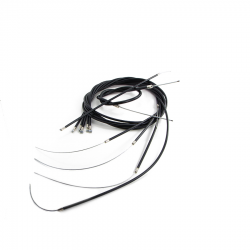 Scootopia Lambretta GP Black Cable Set